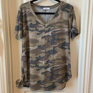 Camo V-Neck Shirt
